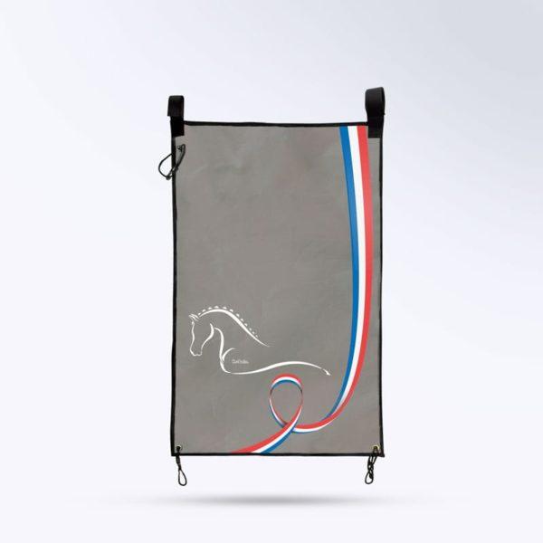 tenture de porte gris Boxprotec fabriqué en France