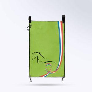 tenture de porte Boxprotec vert fabrication française
