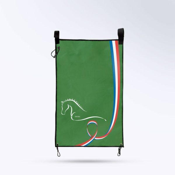 tenture de porte Boxprotec vert foncé fabrication française