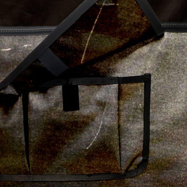 tenture de box PRO 1 avec pochettes de rangement