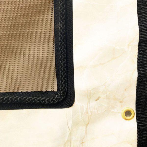 Tenture de box PRO1 Fond marbre