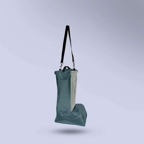 Sac à bottes respirant Enfant Vert Carbone