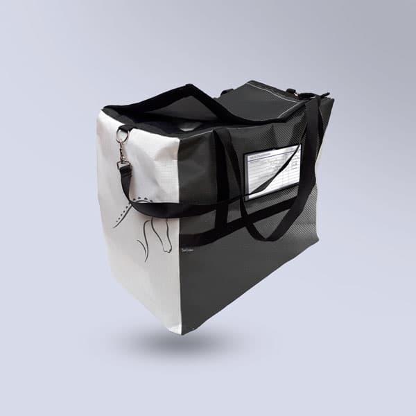 Sac à couvertures respirant Noir carbone