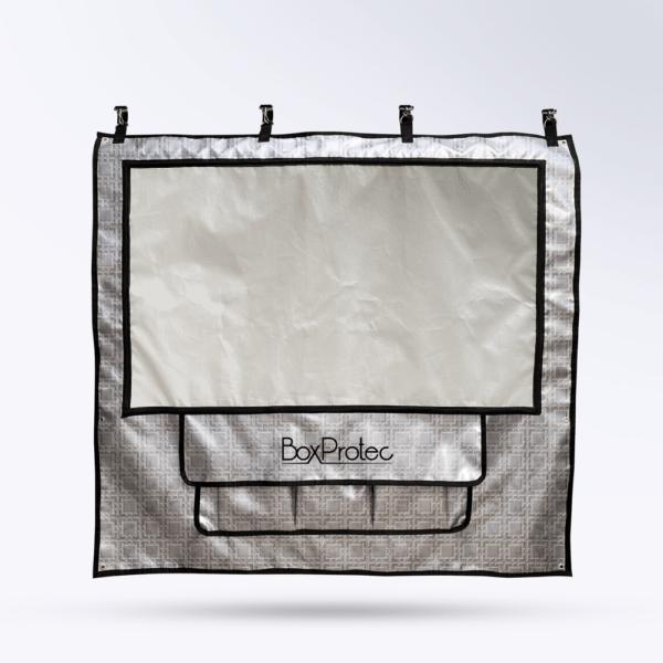 Tenture de box muraille Toile micro perforée personnalisable