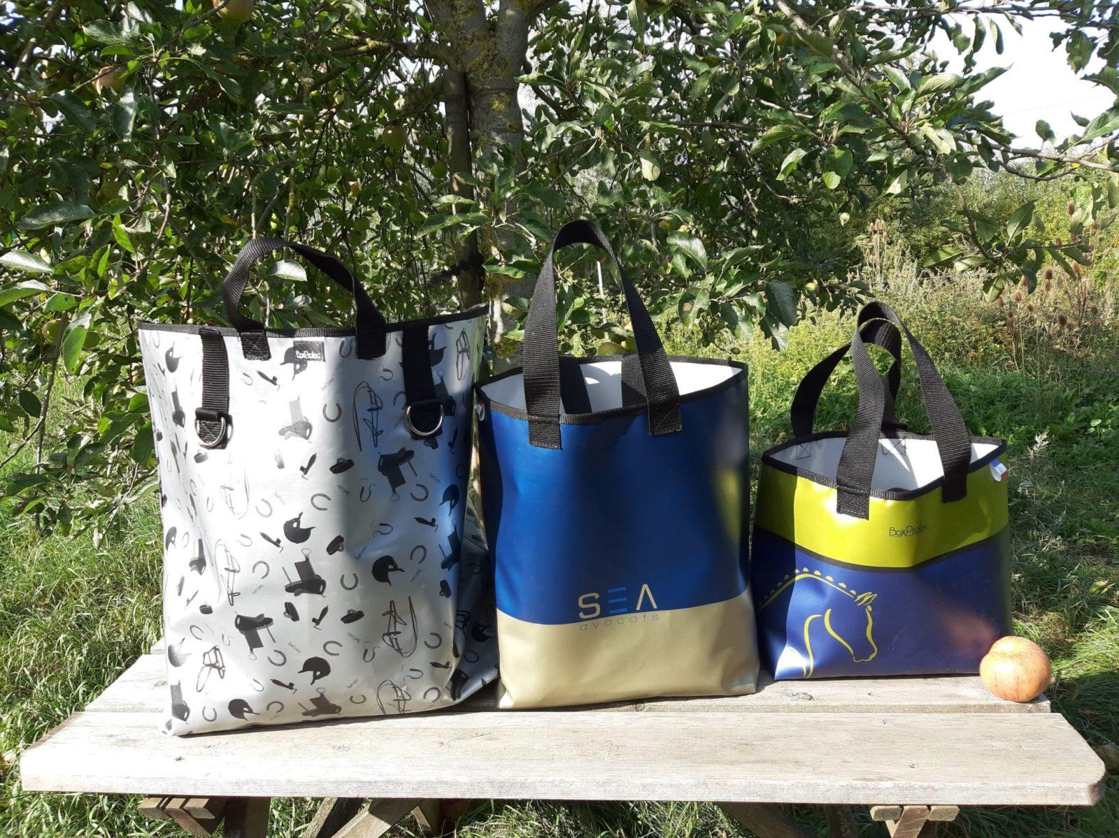 Les trois sacs personnalisable BOXPROTEC