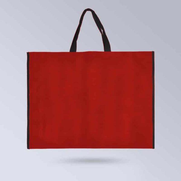 BOXPROTEC-Sac-pour-tapis-de-selle-personnalisable-rouge