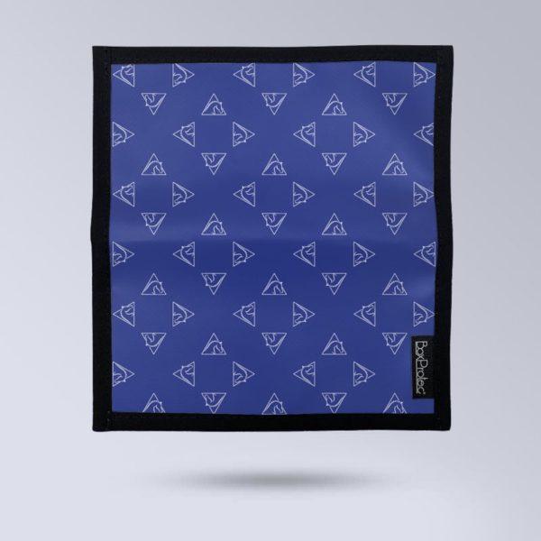 BOXPROTEC Porte chéquier personnalisable - Motif bleu