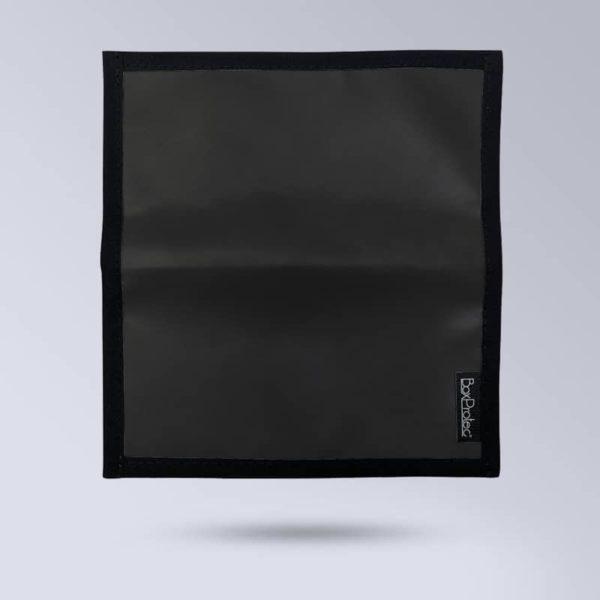 BOXPROTEC Porte chéquier personnalisable - Noir