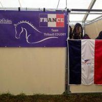 Tenture de box pour les Jeux Equestres Mondiaux